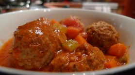 Hearty Meatball Stew