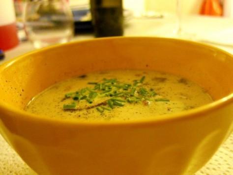 Triple Mushroom Soup