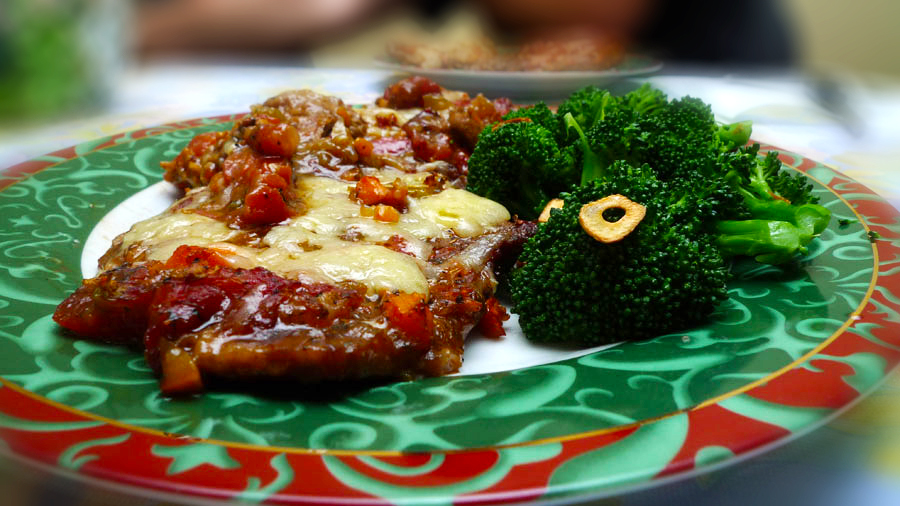 Baked Swiss Steak Two Guys In A Cucina